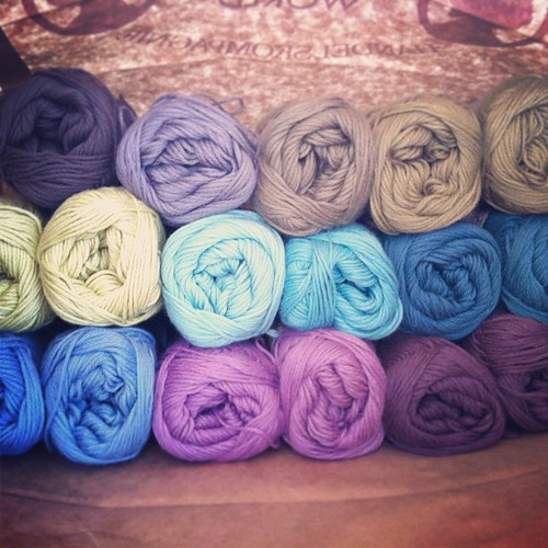 #søstrenegrenes #cotton #yarn such pretty colors!