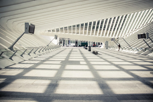 The Sound of the Future (Gare de Liège-Guillemins) - Photo : Gilderic