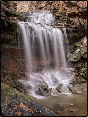 Lower Westcliffe Falls, Hamilton, Ontario by Mustang Joe