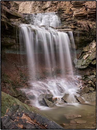 Lower Westcliffe Falls, Hamilton, Ontario by Mustang Joe