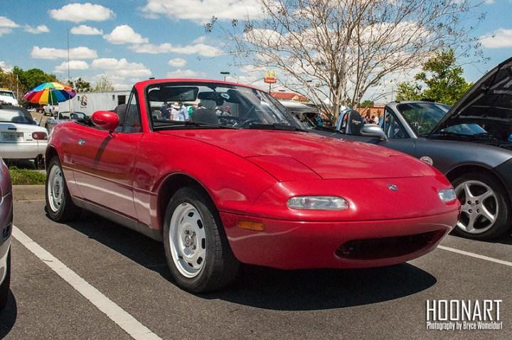 Classic Red Miata