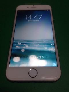 187_iPhone6のフロントパネル液晶割れ