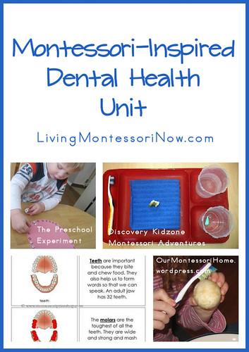 Dental theme activities and printables round up by Welcome to Mommyhood #preschool, #homeschool, #montessori, #preschoolactivities