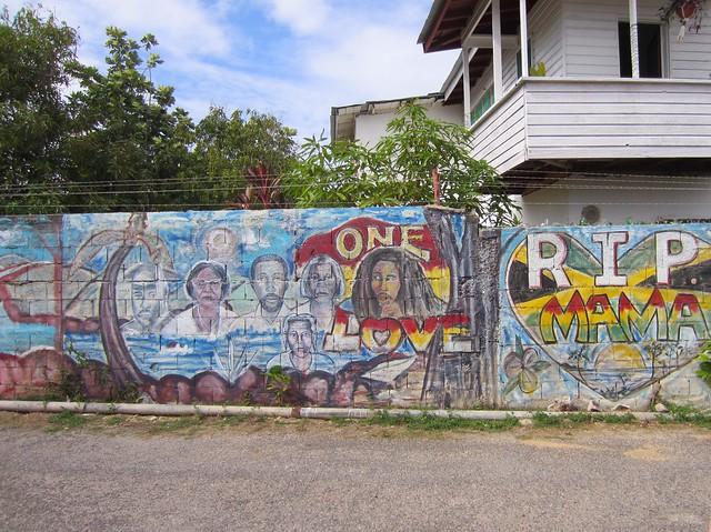 Negril mural