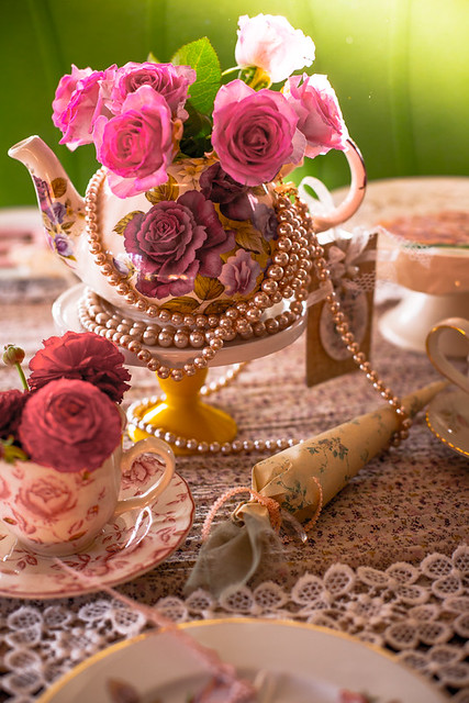 Afternoon Tea Table Decoration