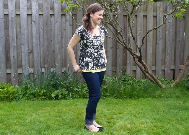 scoop top pattern & tutorial