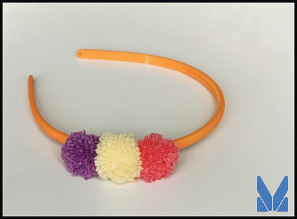 pompon headband