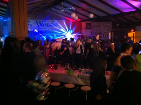 Party disco au Mont SUTTON