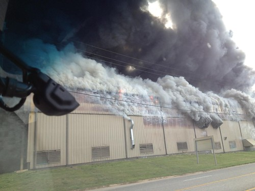 Pace Industries Fire in Arkansas