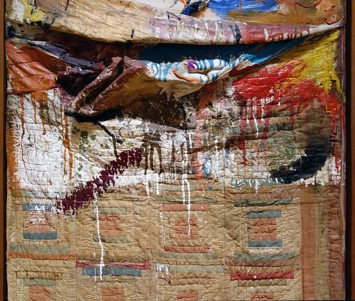 Robert Rauschenberg Bed detail  Robert Rauschenberg