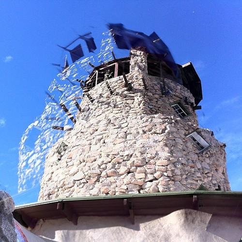 #pjuniversity Tower. Double exposed.