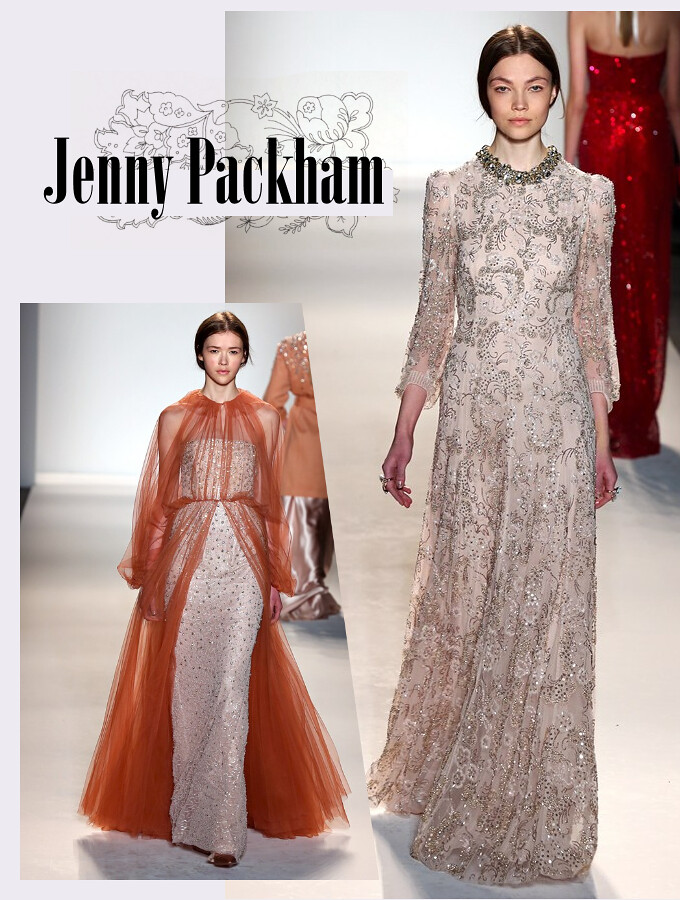 Jenny Packham, aw 2013