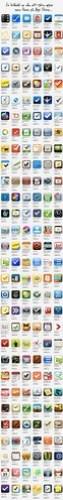 lång lista med en bråkdel av alla att-göra-appar