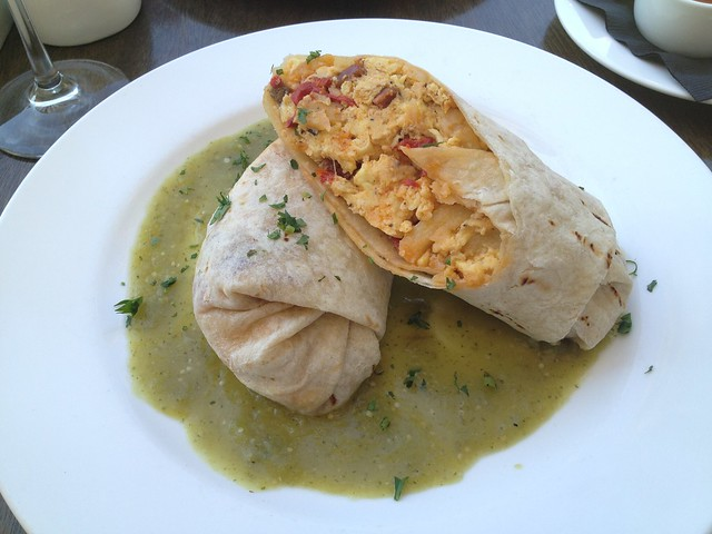 Chorizo burrito - Purple Palm Restaurant