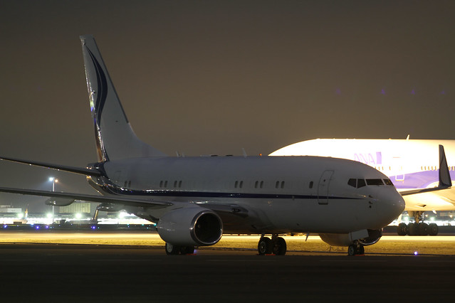 Samsung Techwin Aviation B737-700 BBJ(HL7759)