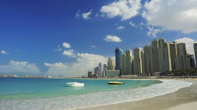 Jumeirah Beach Residence. Достопримечательности Дубая