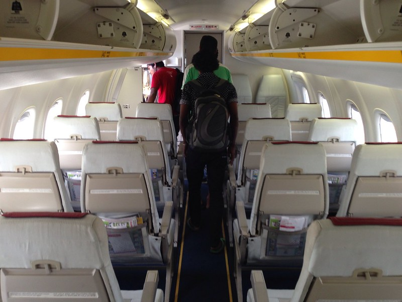 Cabin of the Dash 8 Series 300