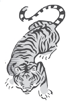Aunt Jennfer's Tigers