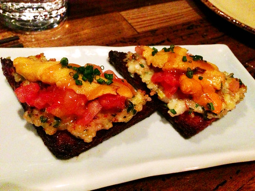 Uni Shrimp Toast