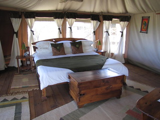 Bedroom at Elephant Watch