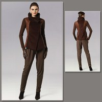 Vogue 8757 Wool Doubleknit Pant