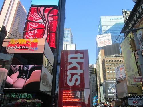 tkts on Broadway, NYC. Nueva York