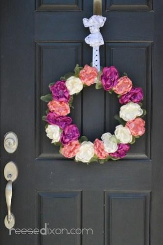 Singed Flower Wreath