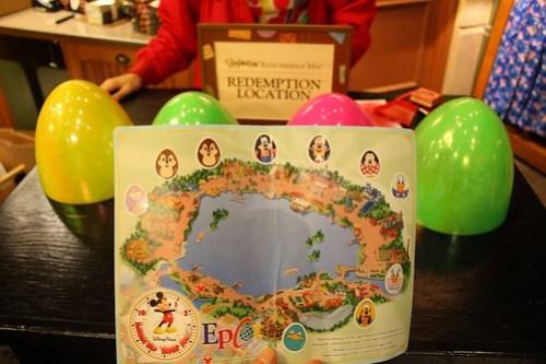 Vinylmation Easter Egg Hunt at Epcot