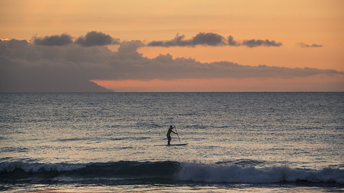 Race Against the Clouds (Playa de Las Americas, Tenerife) - Photo : Gilderic