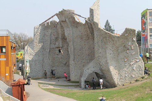 Gutovka outdoors climbing gym