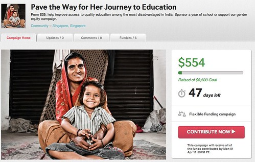 Pave the Way for Her Journey to Education | Indiegogo