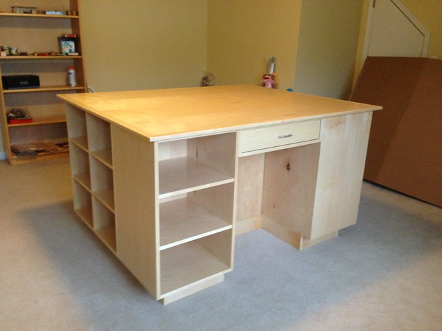 Workbench For My Craft Room 2nd View This Has Been In