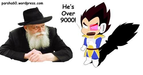 Rabbi It's Over 9000