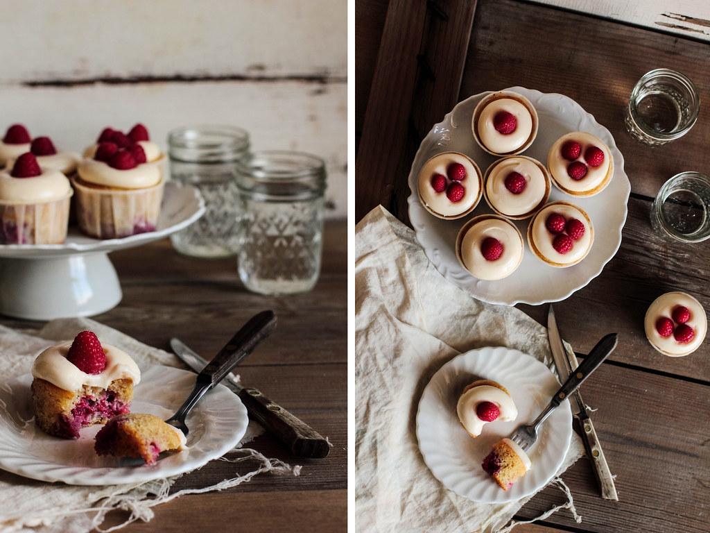 Raspberry Lemon Cream Cheese Cupcakes