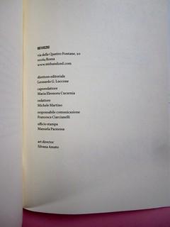 Denis Lachaud, Imparo il tedesco. 66THAND2ND 2013. Progetto grafico: Silvana Amatao, Marta B Dau. Alla cop.: disegno di Julia Binfield. Responsabilità editoriali (part.), 1