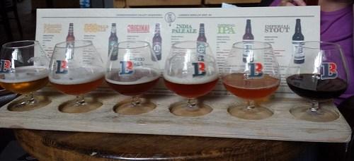 Brauhaus Lemke beer taster