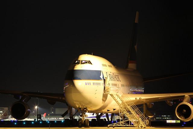 Cathay Pacific B747-400(B-HOV)