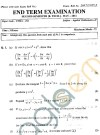 GGSIPU Question Papers Second Semester – end Term 2011 – ETMA -102