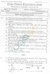 GGSIPU Question Papers Third Semester – End Term 2005 – ETEE-203