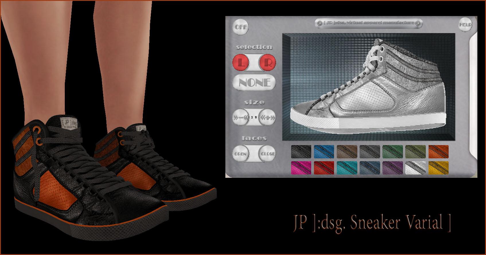 [ JP ]:dsg. Sneaker Varial