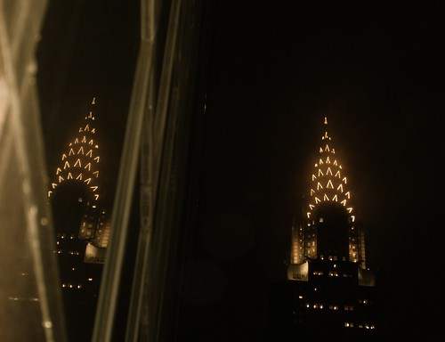 Chrysler Building's art deco crown by NYC♥NYC