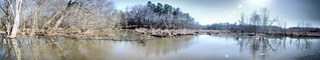 Lake Connestee panorama 2