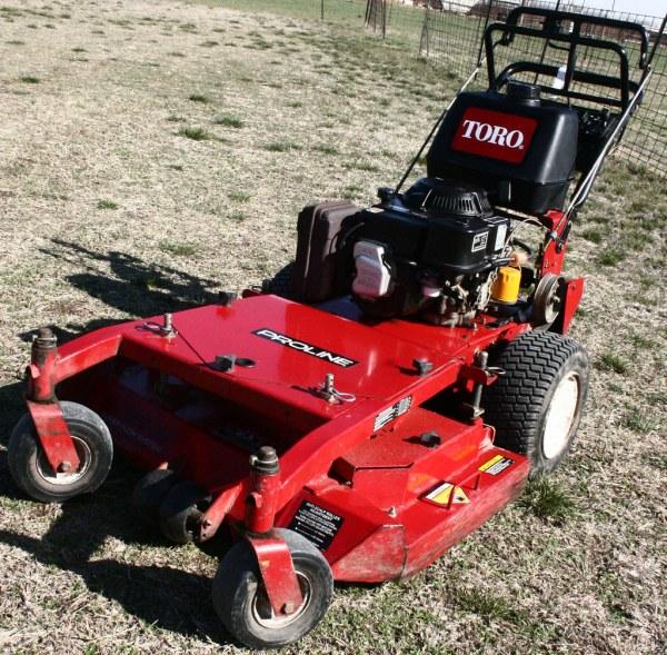 """Sold - Toro Proline 36"""" Walk Commercial Lawn Mower"""