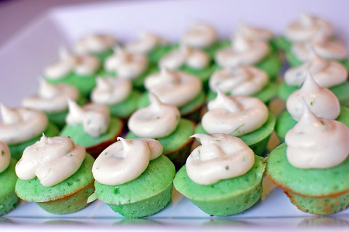 Mini Lime Cupcakes 3
