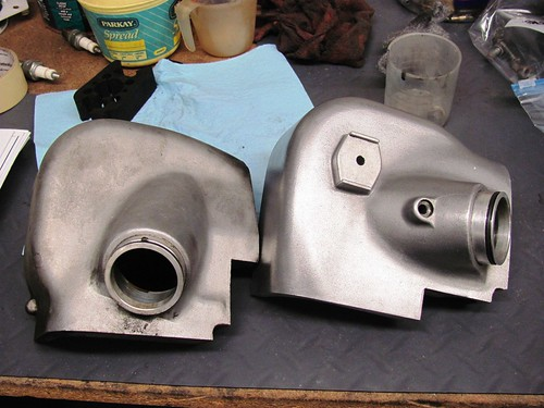 Airbox Covers, Before Polish & After