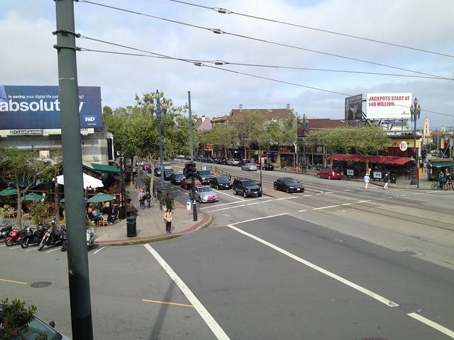 View of Market Street