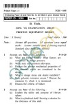 UPTU: B.Tech Question Papers - TCH-605 - Process Equipment Design