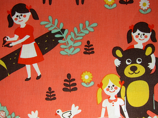 pattern for children's fabrics