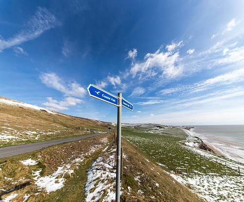 Isle of Wight Coastal Path - After the Snow
