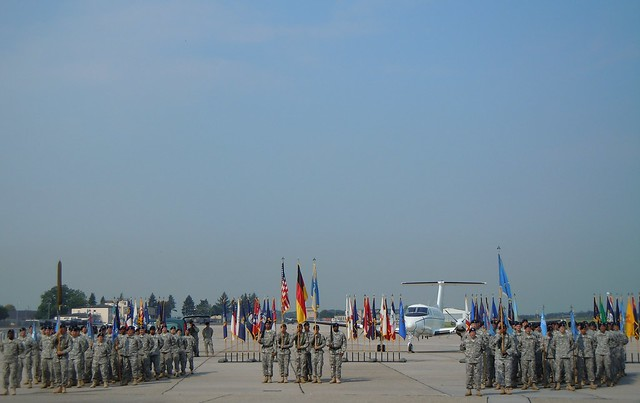 1st MI AE Change of Command